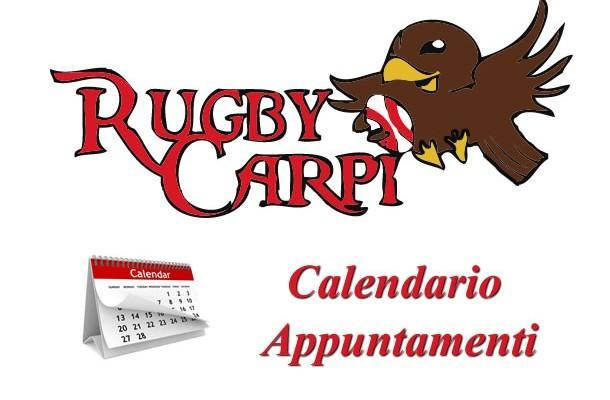Rugby Carpi - calendario appuntamenti