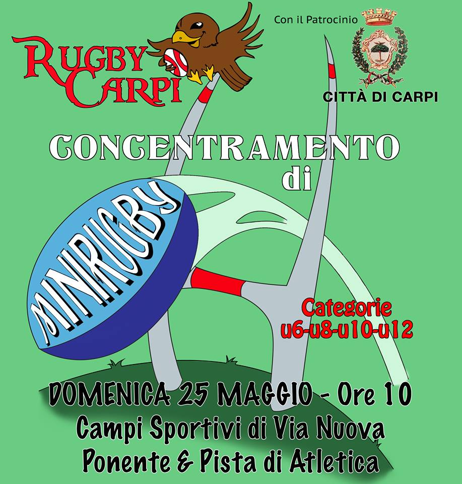 Concentramento a Carpi – 25 Maggio 2014