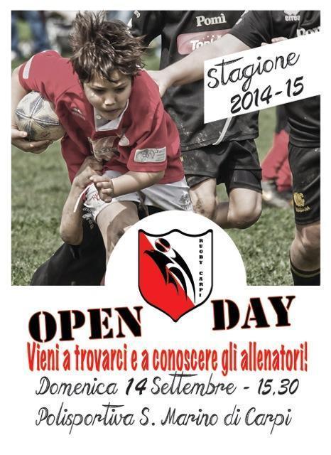 Open day 2014 – Presentazione 1° squadra