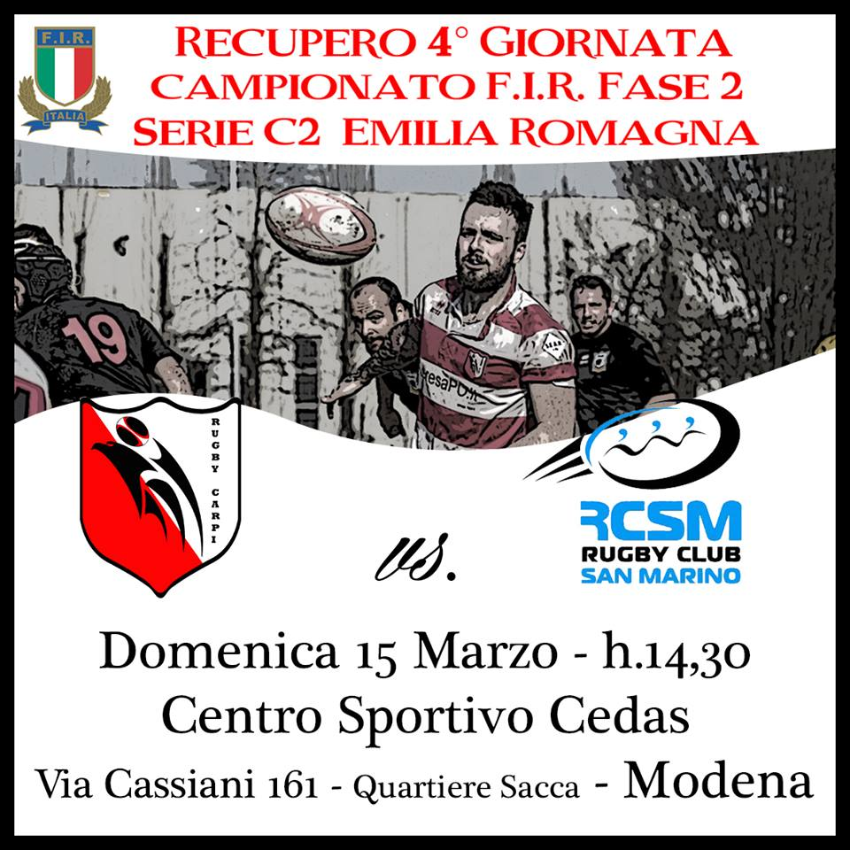 Rugby Carpi - Rugby Club San Marino