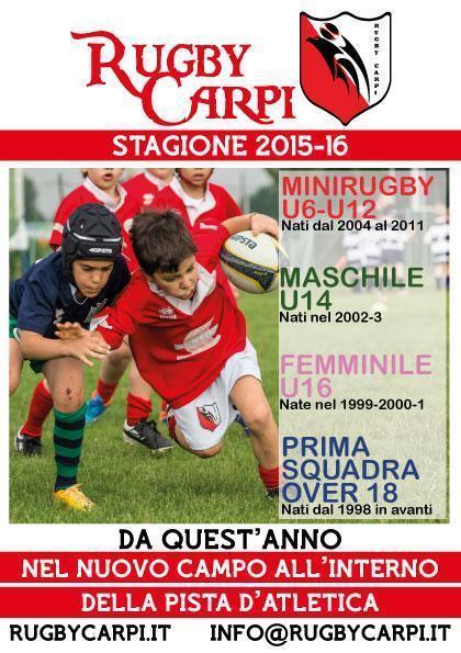 VIENI A GIOCARE A RUGBY !