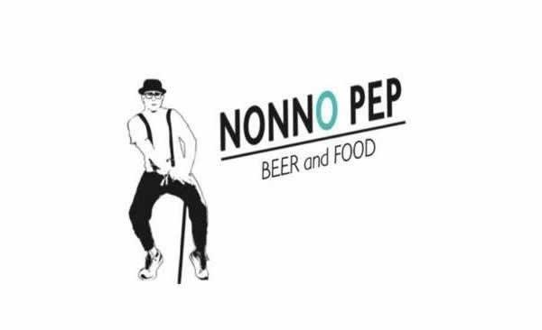 Logo Nonno Pep - beer and food