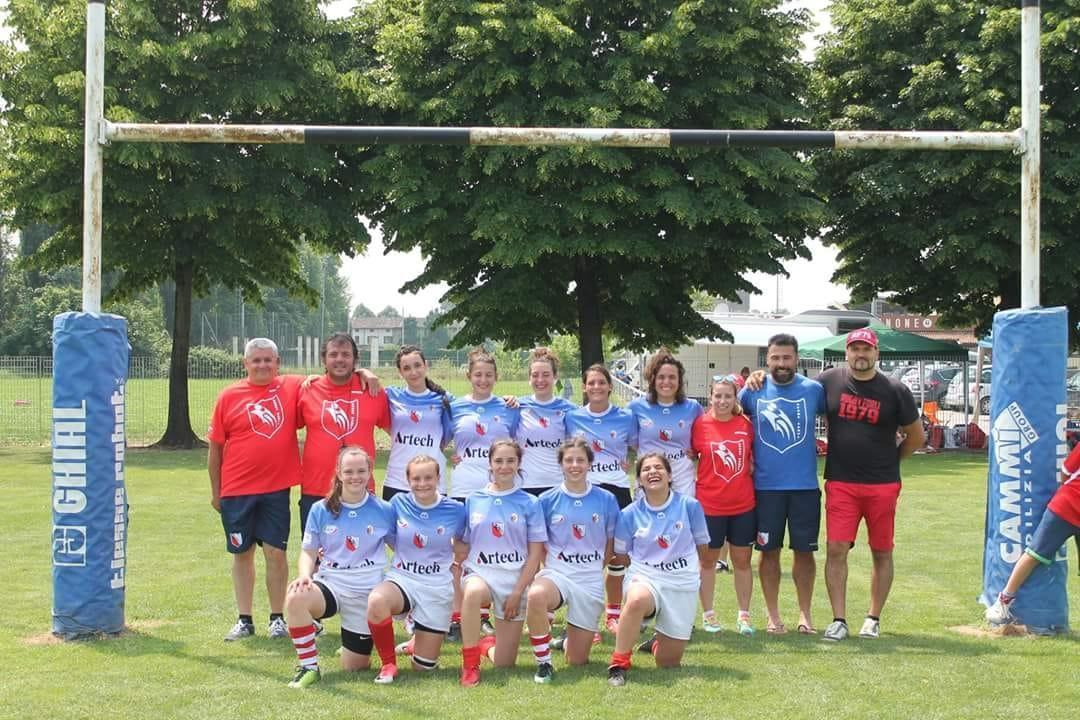 Rugby, un podio storico: le carpigiane 3° in Coppa Italia