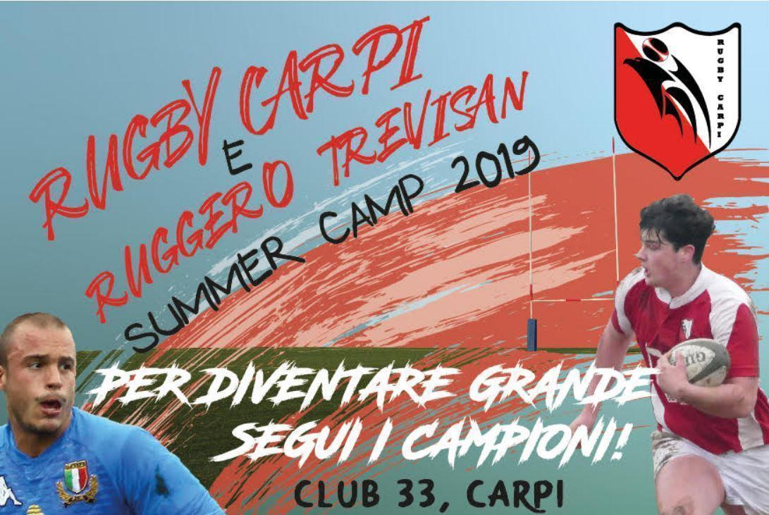 Rugby Carpi & Ruggero Trevisan Summer-Camp 2019